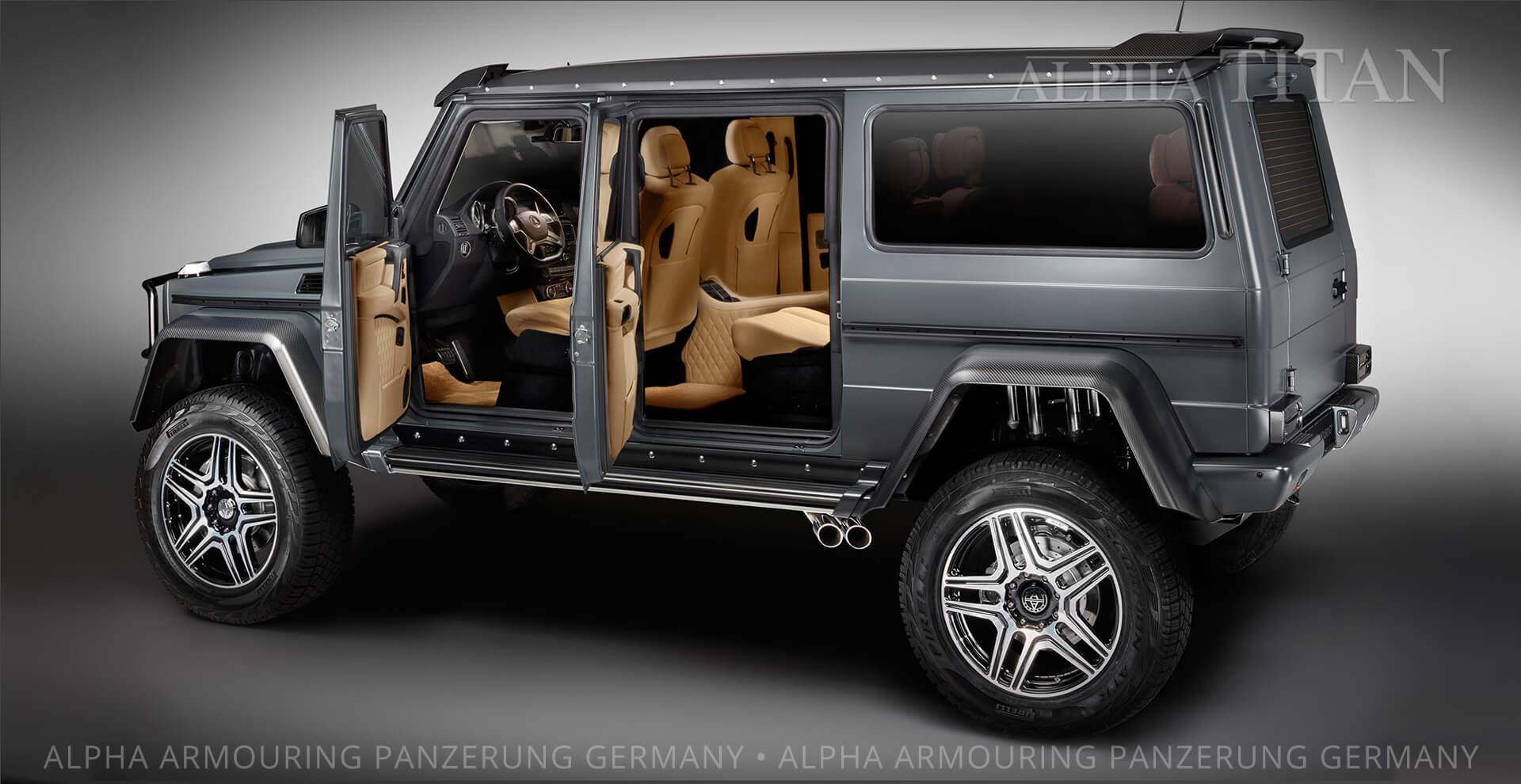 Armored Vehicles SUVs invisible Armoured Cars made in Germany